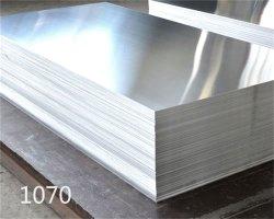 Plástico altamente 1070 placa de aluminio para piezas de aviones