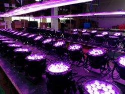 Rigeba 18*10W для использования вне помещений водонепроницаемый RGBW 4в1 LED PAR лампа Can для альбомной ориентации