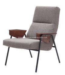 Wood Arm Chair Metal Fram Italienisches Modell