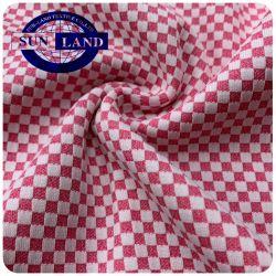 Tweekleurige Kleuren 100% Stof van de Wafel van de Jacquard van het Gebruik van Tatami van de Matras van het Kussen van het Huis van de Polyester Textiel Breiende