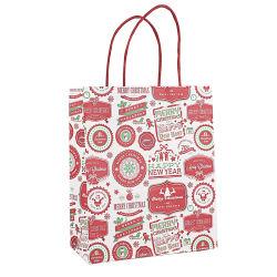عيد ميلاد المسيح صغيرة حلوى هدية حقائب خبز بالجملة سعر