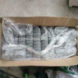 Prata metálico usado Scourer malha de arame galvanizado
