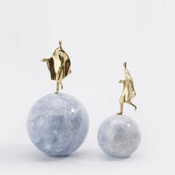 Bola de cristal Decoración moderna creativa simple estudio de gabinete del vino la decoración del hogar