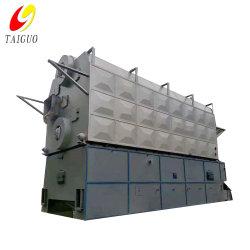Cadeia do Tambor Duplo Engenho do tubo de água da grade alimentadas a carvão 20 Ton Szl Caldeira de Vapor