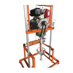 7.5HP de benzine dreef de Draagbare Installatie van de Boor voor de Put van het Water aan (BG-07HP)