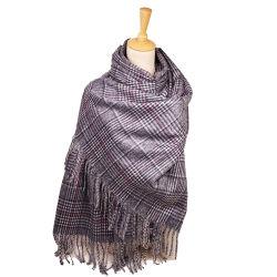 Sciarpa dell'acrilico della sciarpa del reticolo di Satic della sciarpa di inverno di modo anti