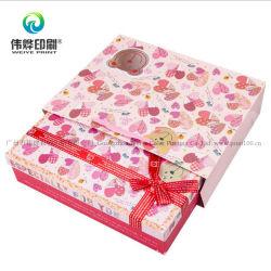 Generi su ordinazione di stampa di contenitore impaccante di carta di bello regalo cosmetico di promozione
