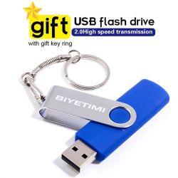 Горячая продажа металла 8g 128g 16g 32g OTG 2.0 перо диск USB флэш-памяти диска