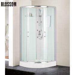 Estrutura de alumínio Chromen Sala de vidro simples caixa de duche de massagem de cabina