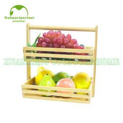 대나무 과일 바구니 선물 바구니