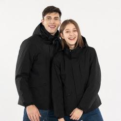 Commercio all'ingrosso 3 in 1 cappotto impermeabile del rivestimento di alta qualità del rivestimento di pattino delle donne del Mens