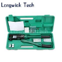 手のケーブルまたはワイヤーのための手動油圧圧着工具のひだ付け装置のプライヤー