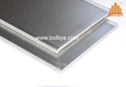 La spazzola della linea sottile dello specchio spazzolata impressa imprime il composto Polished dell'acciaio inossidabile