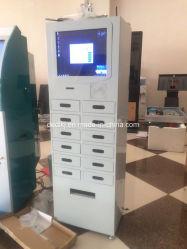 Stazioni di carico del telefono delle cellule di Dedi in pubblico con il pagamento del sistema dell'armadio