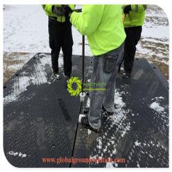 Professionnels de la plaque en plastique dur de haute qualité UHMWPE Tapis routier temporaire