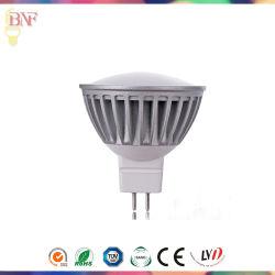 MR16 LED DC12V Spotlight pour 1W/3W/5 W avec 2700K/4000K/6400K