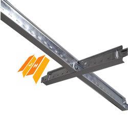 Les grilles de suspension au plafond (T24, T15mm)