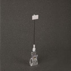 Пластиковый зажим с помощью плакатов Самоклеющиеся Wobbler