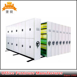 Jas-070 Government Storage Furniture Mobile File Cabinet Metal Movable Archive Mass Shelf