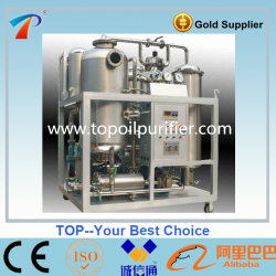 Limpador de filtragem de óleo de fritura sujo
