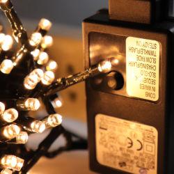 عيد ميلاد المسيح زخرفة أكريليكيّ [إيب44] [لوو فولتج] ثعبان أضواء