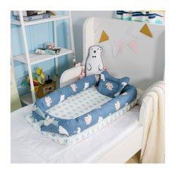 Du côté de lit bébé voyage portable Sleeper Lit de bébé avec l'oreiller