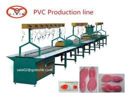 PVC ゴム靴底製造ライン