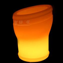 Vinho barato balde de gelo balde de gelo de LED da Barra