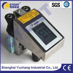 Cycjet Alt382 Handheld Venta de etiquetas de código máquina de impresión textil