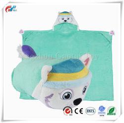 Animal en peluche Blanket Kids Huggable oreiller et une couverture parfaite pour prétendre jouer, voyages, heure de la sieste
