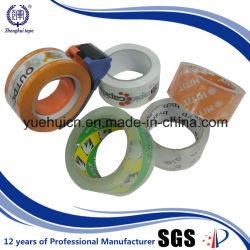 Para caja de embalaje utilizado de BOPP de cinta de una sola cara