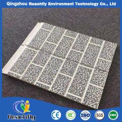 La fibre de verre d'isolation thermique des matériaux de construction en aluminium pour mur extérieur