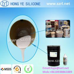 Liquide silicone RTV-2 pour la fabrication de moules des produits en gypse