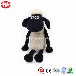 Giocattolo molle di seduta in bianco e nero del regalo dei capretti delle pecore di Shaun