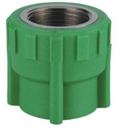 Для соединений медных и заершенный резьбой PPR фитинг для подачи воды (R03)