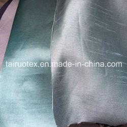 100 % polyester Tissu Slubbed (TR-TEX-D)