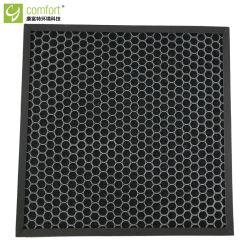Pulitore attivato cellulare del prodotto chimico di corpi filtranti del carbonio del blocco per grafici del cartone di comodità pre