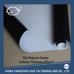 Flammhemmendes schwarzes Glasfaser-Projektions-Bildschirm-Gewebe