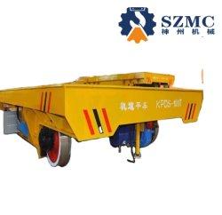 Kpds 2~150t Stromversorgung-Schienenstrang-flaches Übergangsauto