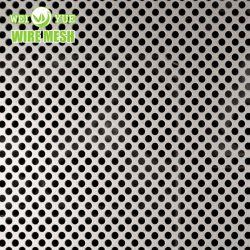 Metallo perforato di alluminio dei fori di perforazione del piatto dello strato per antisdrucciolevole
