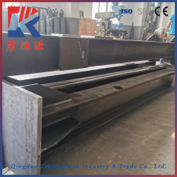 Custom металлической рамы заводской сварки стальной структуры завода с CE и сертификат ISO