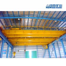 رافعة جسر الرافعة الصناعية العامة QD بقدرة 5~50t ذات شكل علوي مزدوج الرافعة