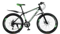 Lega di alluminio d'acciaio ad alto tenore di carbonio 24 bicicletta della montagna delle 26 bici