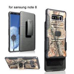 Camuflaje OEM Case Combo Funda para Samsung Galaxy S9 Funda Clip para cinturón