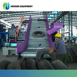 Déchets Hengen pneu pour le recyclage de l'écrasement de ligne de mise au rebut