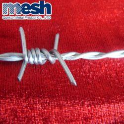 Segurança de nível alto veículos pesados de revestimento de zinco/Cubas/PVC Arame farpado para a Régua
