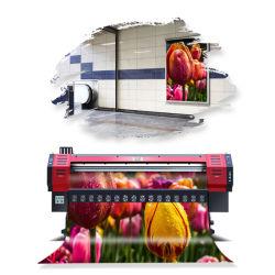 Spectra Polaris 512-35pl/15pl 프린트 헤드가 장착된 Flex Banner Imppressora Solvent Printer, 3.2m, 1440dpi