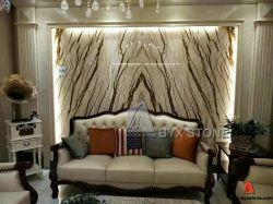 Natürliches SteinSofitel Poliergold/goldener gelber Marmor für Platten/Wand/Bodenbelag-Fliesen/Hintergrund/Umhüllung/Bedeckung/Balustrade/Kamin/Küche/Badezimmer/Tisch