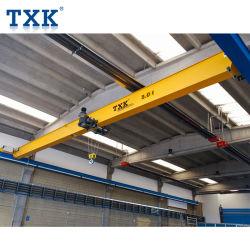 10 -50 toneladas especializados almacén viga única Grúa con el polipasto eléctrico