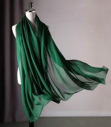 Eis gefärbter Silk Chiffon- Schal-Sommer-Schal